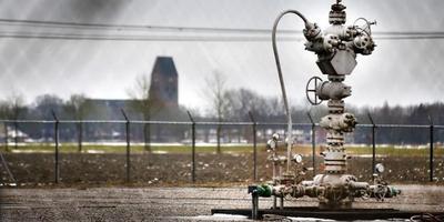 Een gaswininstallatie elders in Friesland. FOTO ANP