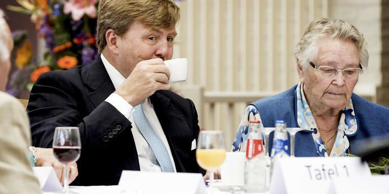 Koffie drinken in Franeker.