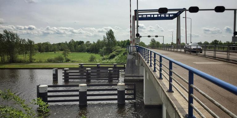 De brug bij Kootstertille. FOTO ARCHIEF LC
