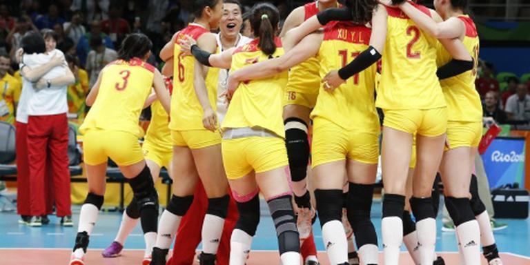 Chinese vrouwen olympisch kampioen volleybal
