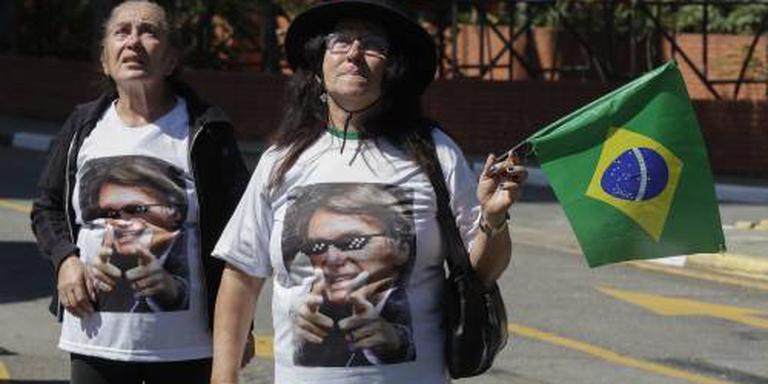Presidentskandidaat Bolsonaro populairder