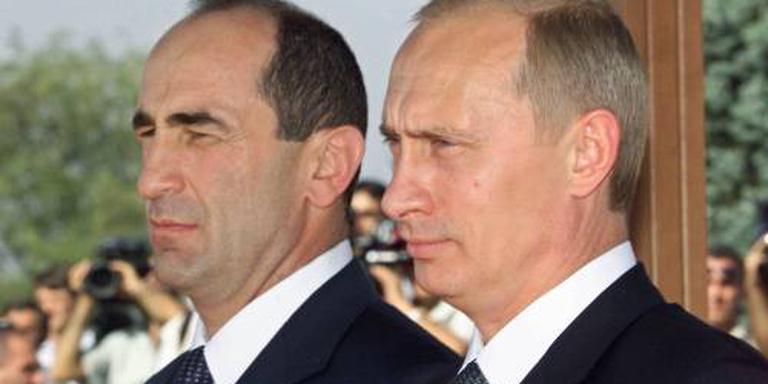 Armeense ex-president Kotsjarian in hechtenis