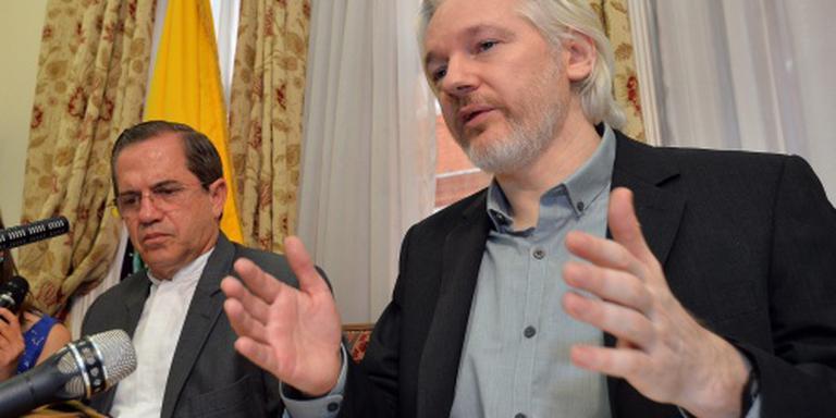 'VN: Assange zit zonder rechtsgrond vast'