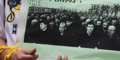 China: roddels over moslimkampen niet geloven