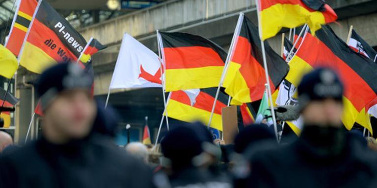 Rellen bij demonstratie Pegida