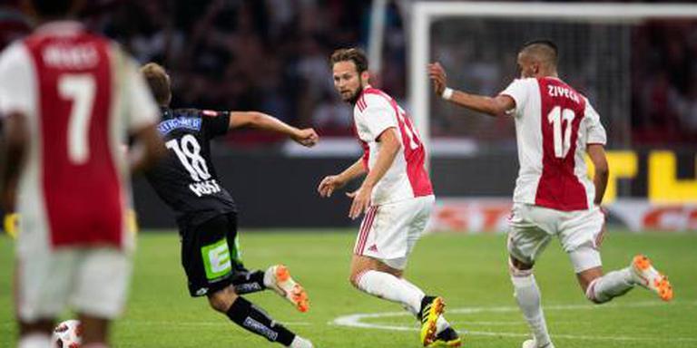Ajax wil karwei afmaken in Graz