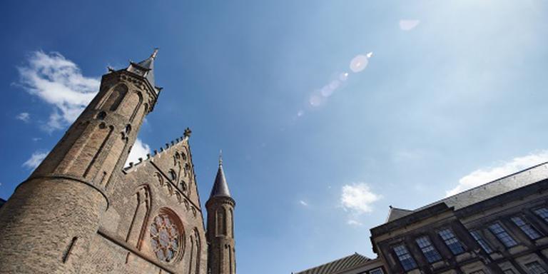 Mannen veroorzaken consternatie op Binnenhof