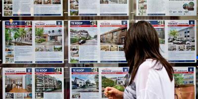 'Huizenprijzen klimmen steeds moeizamer'