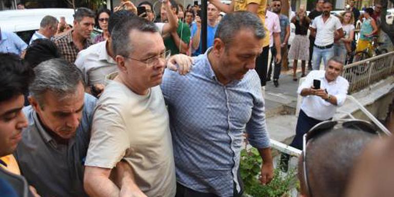 Turkse rechter laat dominee Brunson niet vrij
