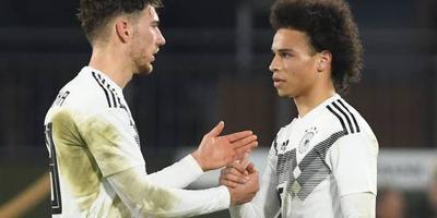 Verjongd Duitsland aast op revanche
