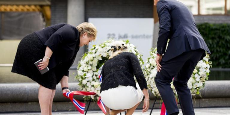 Noren herdenken aanslagen door Breivik