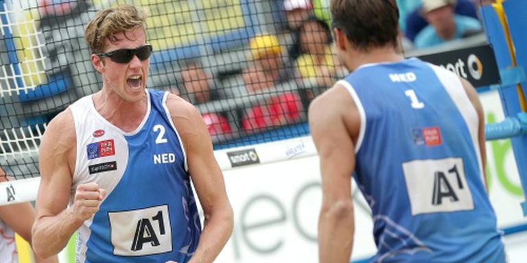 Nederlandse kwartfinale op zand in Moskou