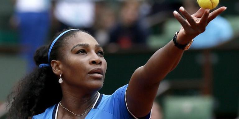 Regen hindert Williams op Roland Garros