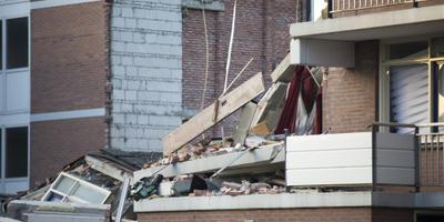 Bewoners Drachten halen spullen op uit huis