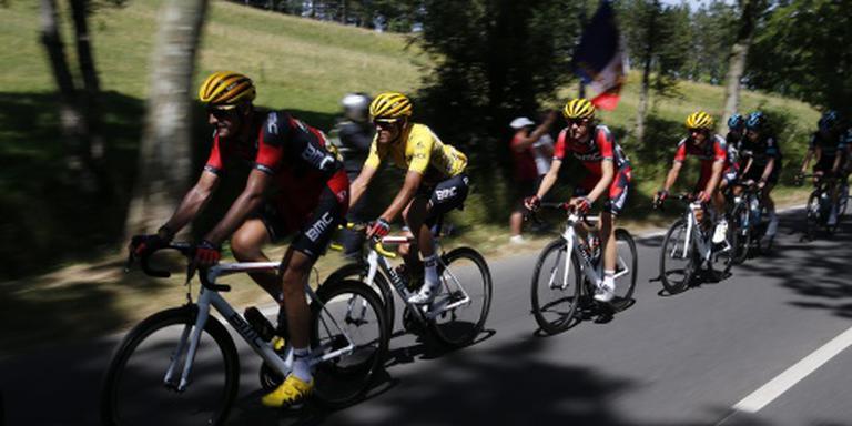 Primeur: alle renners na rit zes nog in koers
