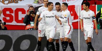 Sevilla wint met Promes ook thuis van Lazio