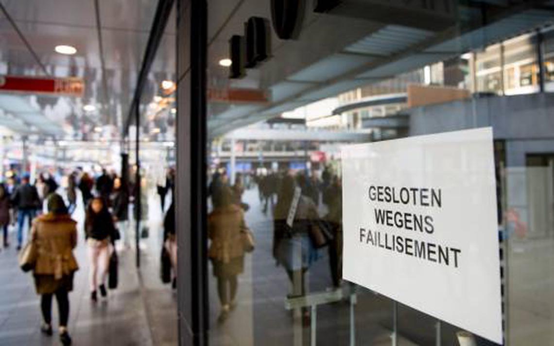 Iets meer faillissementen - Economie - LC.nl