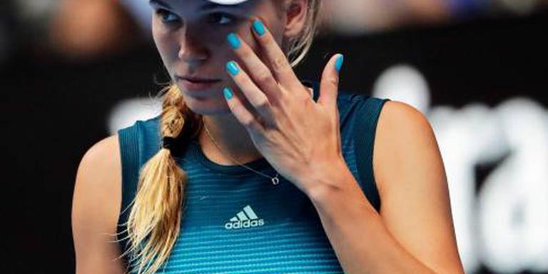 Wozniacki meldt zich af voor Doha