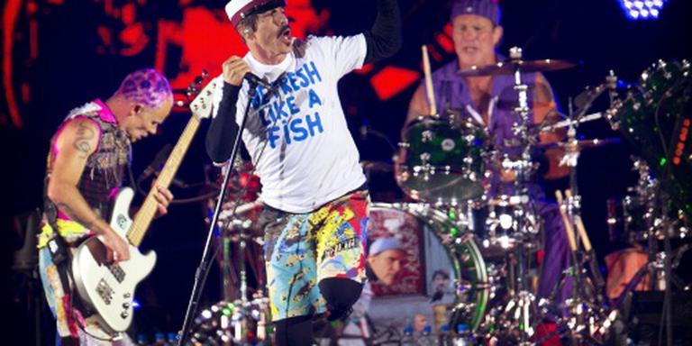 Red Hot Chili Peppers opnieuw naar Nederland