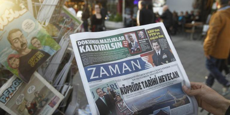 Turkse krant Zaman is nu lovend over Erdogan
