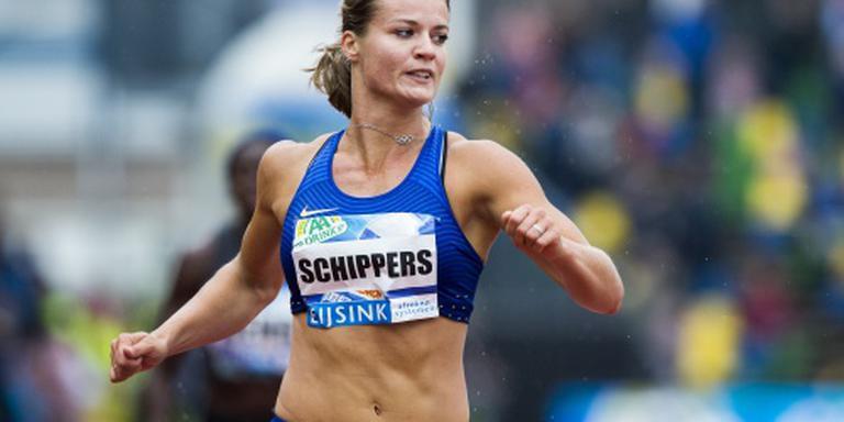 Schippers snelste vrouw dit jaar op 200 meter