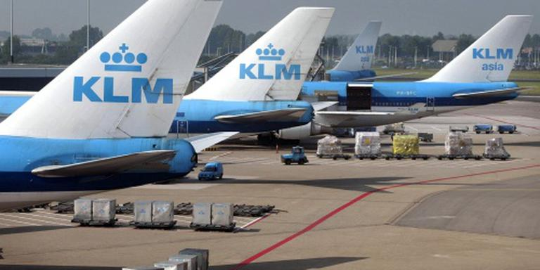 FNV: geen vertraging door actie KLM'ers