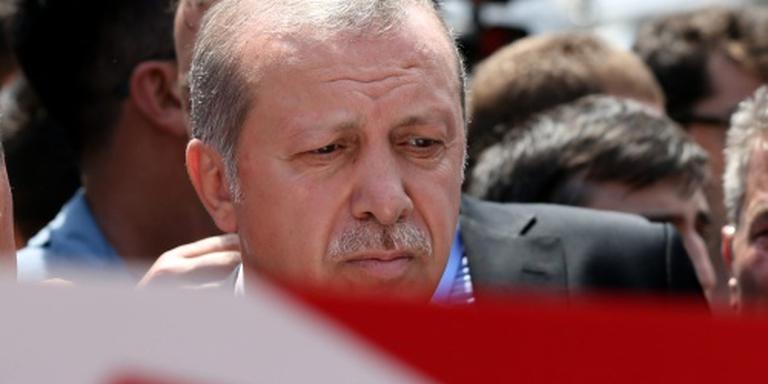 Erdogan: doodstraf snel weer invoeren