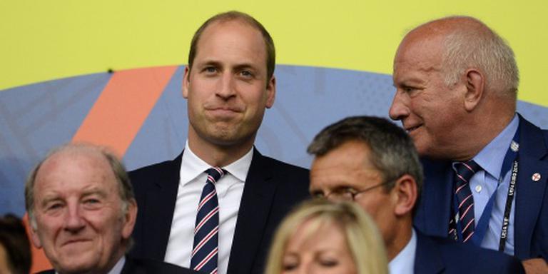 Prins William ziet Engeland gelijk spelen