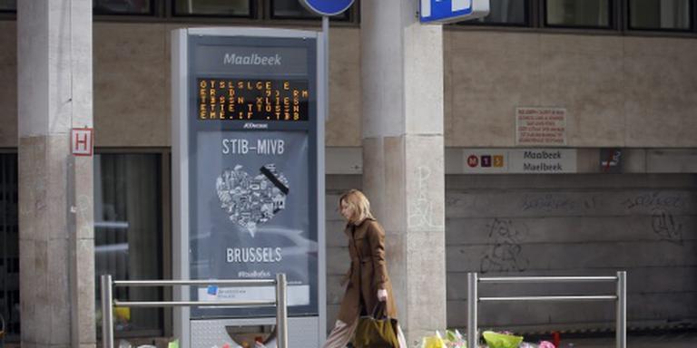 Schade aan station Maalbeek te overzien