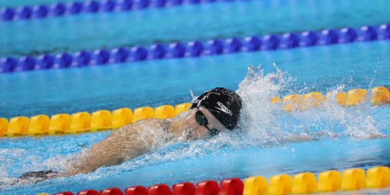 Ledecky pakt eerste goud in wereldrecord