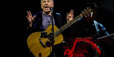Paul Simon geeft afscheidsconcert in New York