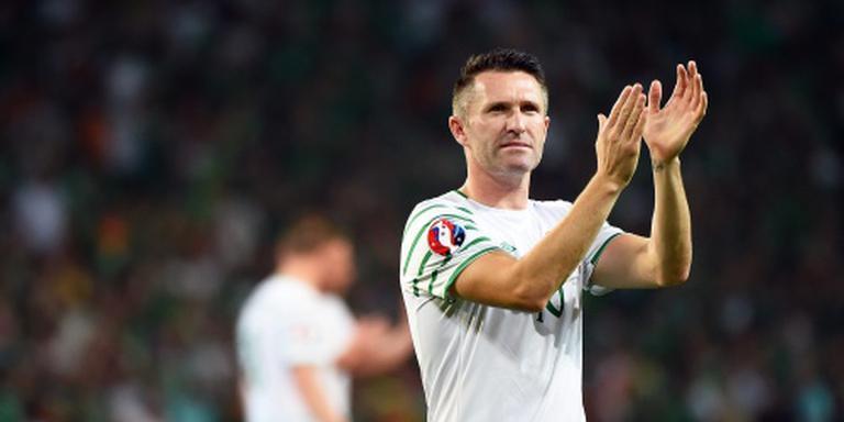 Keane scoort in afscheidsinterland
