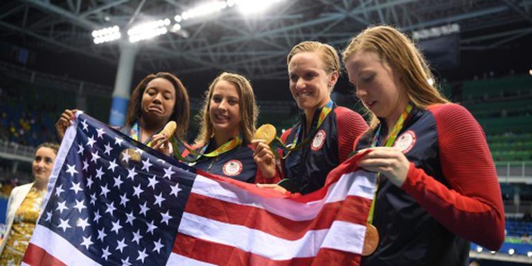 Duizendste olympische titel voor VS