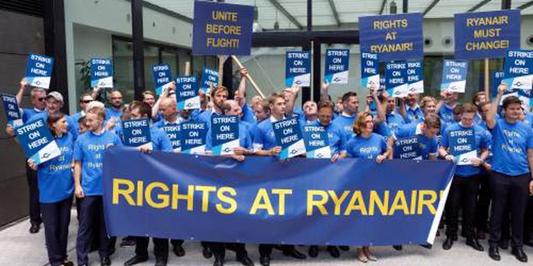 Ryanair veroordeelt staking Duitse piloten
