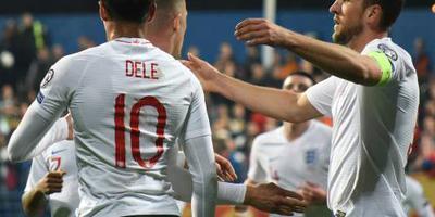 Engeland haalt ook uit tegen Montenegro