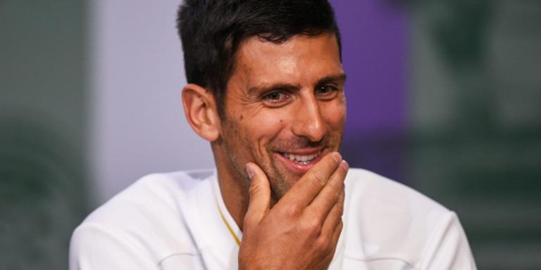 Djokovic begint vol vertrouwen aan Wimbledon