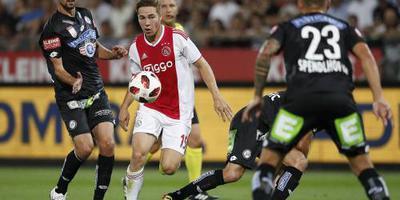 Ajax met Eiting voor De Ligt