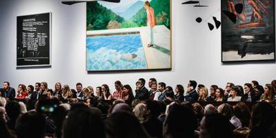 Werk Hockney geveild voor 80 miljoen euro
