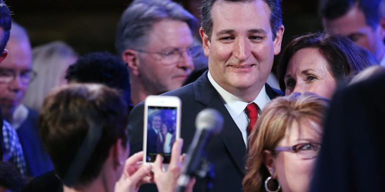 Cruz wint voorverkiezing in Kansas
