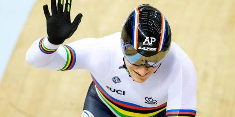 Lavreysen en Hoogland naar halve finale sprint