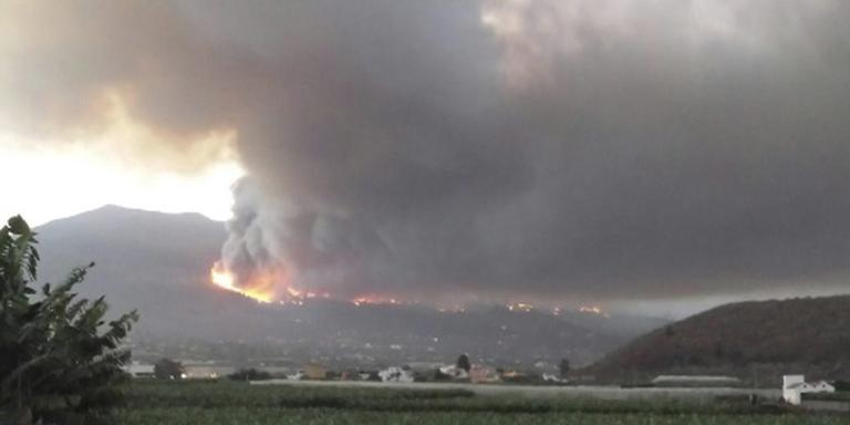 WC-papierbrand La Palma: 3600 hectare bos weg