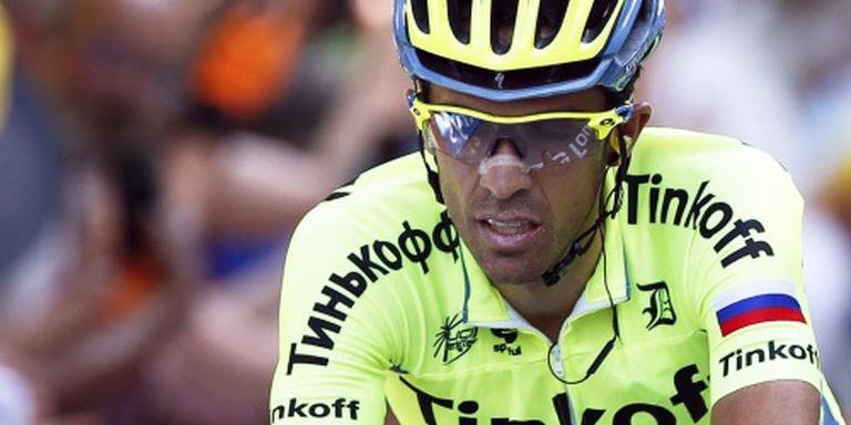 Contador stapt af in Tour de France
