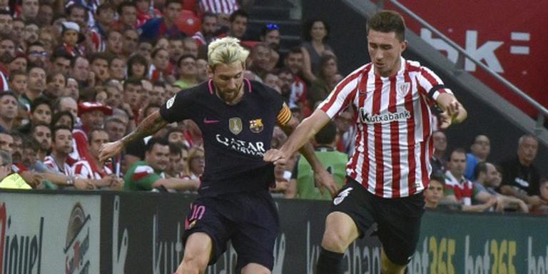 Kleine zege Barcelona op Athletic Bilbao
