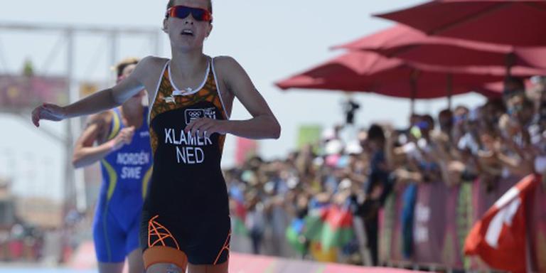 Triatlete Klamer tweede in Hamburg