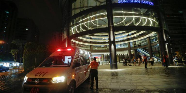 Explosies in trein in Taiwan