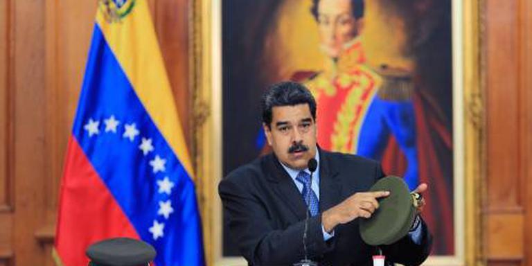 Maduro beschuldigt oppositie van aanslag