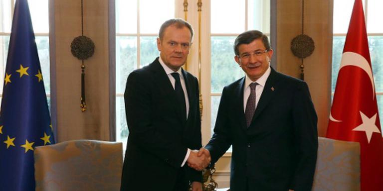 Tusk: geen aantallen afgesproken met Turkije
