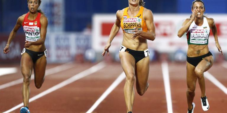 Schippers weer Europees kampioene 100 meter