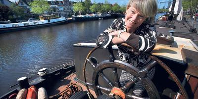 Janna van der Meer: ,,As minsken hjir Turksk mei har bern prate, is dat dochs allinnich mar goed?'' FOTO NIELS WESTRA