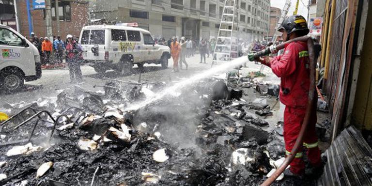 Doden door brandstichting na protest Bolivia